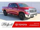 2019 Barcelona Red Metallic Toyota Tundra TSS Off Road CrewMax #130543895