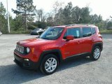 2018 Colorado Red Jeep Renegade Latitude #130543993