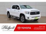 2019 Super White Toyota Tundra Platinum CrewMax 4x4 #130571668