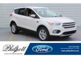 2019 White Platinum Ford Escape SE #130571665