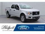 2018 Ingot Silver Ford F150 STX SuperCrew 4x4 #130571662
