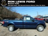 2019 Blue Jeans Ford F150 XL Regular Cab 4x4 #130571582