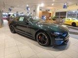 2019 Dark Highland Green Ford Mustang Bullitt #130571619