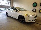 2018 White Platinum Ford Fusion Hybrid SE #130571614
