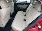 2019 Subaru Impreza 2.0i Limited 5-Door Rear Seat