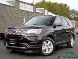 2019 Agate Black Ford Explorer XLT #130587938
