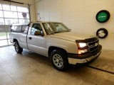 2006 Silver Birch Metallic Chevrolet Silverado 1500 Work Truck Regular Cab #130593758