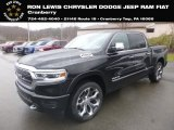 2019 Diamond Black Crystal Pearl Ram 1500 Limited Crew Cab 4x4 #130596562