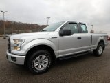 2015 Ingot Silver Metallic Ford F150 XL SuperCab 4x4 #130596650