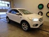 2019 White Platinum Ford Escape Titanium 4WD #130621004