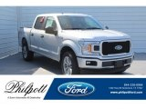 2018 Ingot Silver Ford F150 STX SuperCrew 4x4 #130621031