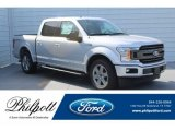 2018 Ingot Silver Ford F150 XLT SuperCrew #130621030