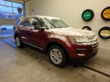 2019 Ruby Red Ford Explorer XLT 4WD #130620997