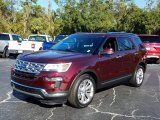 2019 Burgundy Velvet Ford Explorer Limited #130621128