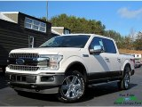 2018 White Platinum Ford F150 Lariat SuperCrew 4x4 #130620887