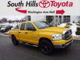 Detonator Yellow Dodge Ram 1500 in 2007