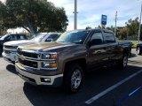 2014 Brownstone Metallic Chevrolet Silverado 1500 LT Crew Cab #130636767