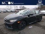 2019 Crystal Black Pearl Honda Civic EX Hatchback #130656701