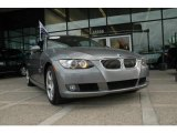 2007 Space Gray Metallic BMW 3 Series 328xi Coupe #1301563