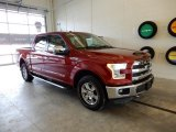 2015 Ruby Red Metallic Ford F150 Lariat SuperCrew 4x4 #130656632