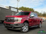 2018 Ruby Red Ford F150 Lariat SuperCrew 4x4 #130656470