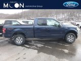 2018 Blue Jeans Ford F150 XLT SuperCab 4x4 #130656728