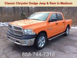 2019 Omaha Orange Ram 1500 Classic Big Horn Crew Cab 4x4 #130656817