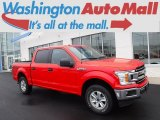 2018 Race Red Ford F150 XLT SuperCrew 4x4 #130683242