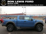 2019 Performance Blue Ford F150 SVT Raptor SuperCab 4x4 #130683224