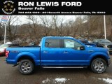 2019 Velocity Blue Ford F150 XLT SuperCrew 4x4 #130683218