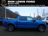 2019 Velocity Blue Ford F150 STX SuperCrew 4x4 #130683214