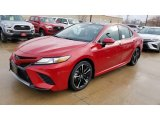 2019 Supersonic Red Toyota Camry XSE #130683412