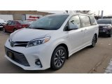 2019 Blizzard Pearl White Toyota Sienna Limited AWD #130683410
