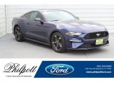 2018 Kona Blue Ford Mustang EcoBoost Fastback #130706978