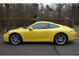 2016 Porsche 911 Racing Yellow