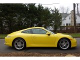 2016 Porsche 911 Racing Yellow