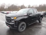 2019 Black Chevrolet Silverado 1500 Custom Z71 Trail Boss Double Cab 4WD #130715477