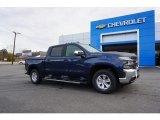 2019 Northsky Blue Metallic Chevrolet Silverado 1500 LT Crew Cab #130715597