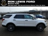 2019 White Platinum Ford Explorer Sport 4WD #130744853