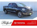 2019 Midnight Black Metallic Toyota Tundra SR5 CrewMax 4x4 #130744981