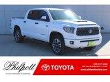 2019 Super White Toyota Tundra SR5 CrewMax 4x4 #130744980