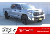 2019 Cement Toyota Tundra TSS Off Road CrewMax #130744977