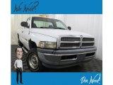 2001 Bright White Dodge Ram 1500 ST Regular Cab 4x4 #130745045