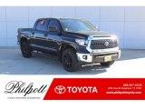 2019 Midnight Black Metallic Toyota Tundra TSS Off Road CrewMax #130744972