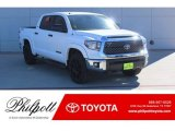 2019 Super White Toyota Tundra TSS Off Road CrewMax #130744971