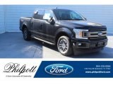2019 Agate Black Ford F150 XLT SuperCrew #130770834