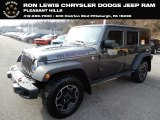 2017 Granite Crystal Metallic Jeep Wrangler Unlimited Rubicon 4x4 #130814900