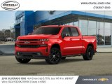 2019 Red Hot Chevrolet Silverado 1500 RST Crew Cab 4WD #130814925