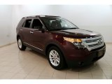 2011 Bordeaux Reserve Red Metallic Ford Explorer XLT #130814980