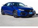 2019 Agean Blue Metallic Honda Civic Si Coupe #130830248